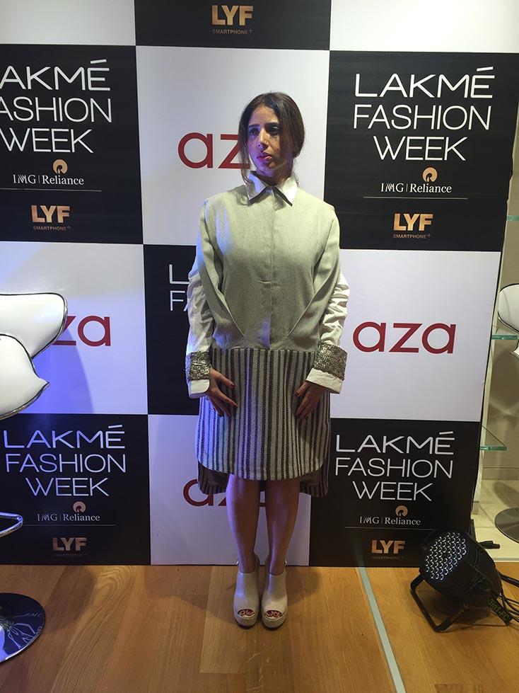 Fashion influencer Aiana Jain