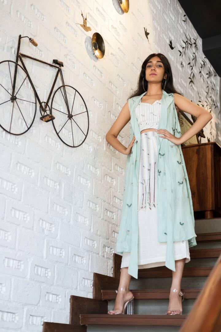 Fashion infuencer  Ishna Rawlani