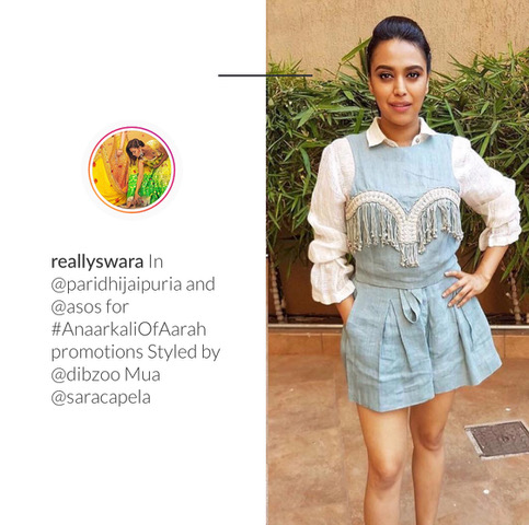 Celebrity looks   Swara Bhasker