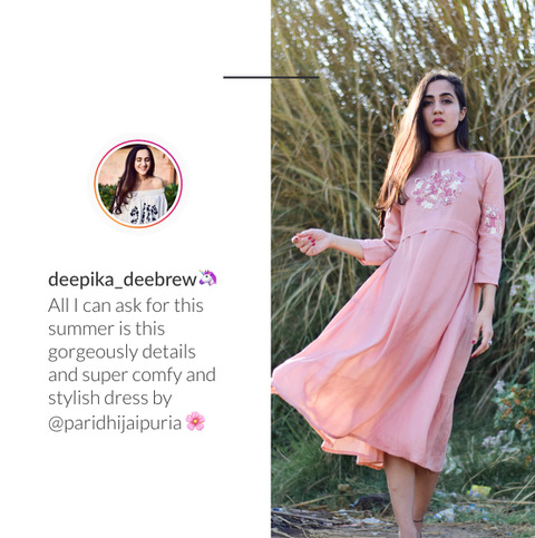 Fashion influencer Deepika Sharma